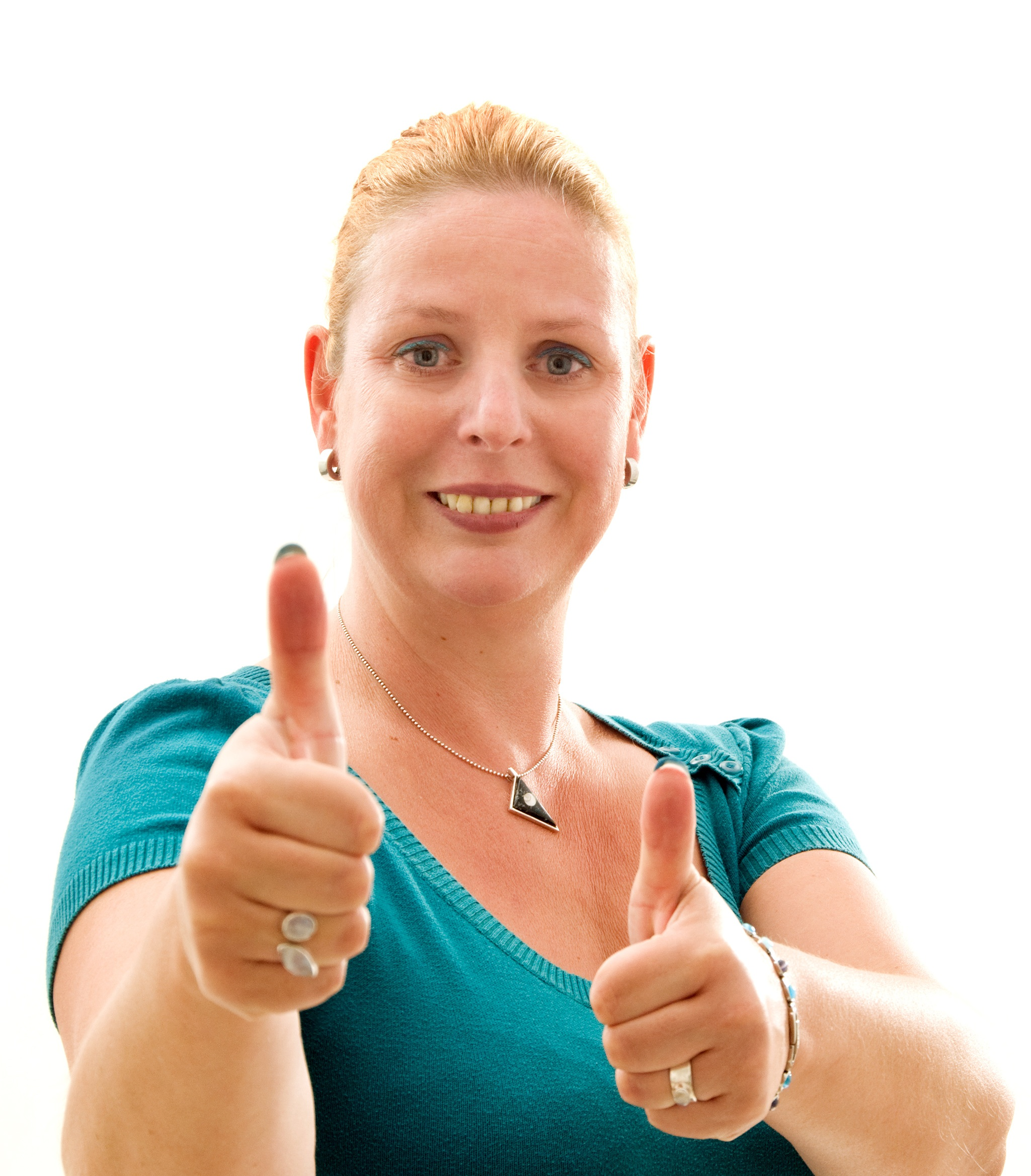 Claudia Kimich Thumbs up